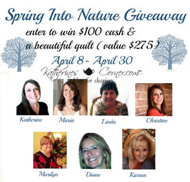 Spring Into Nature Giveaway sidebar