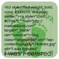Featured Button text