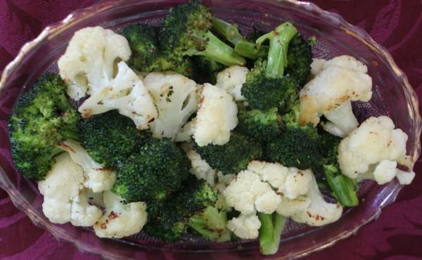 Roasted Broccoli & Cauliflower 3