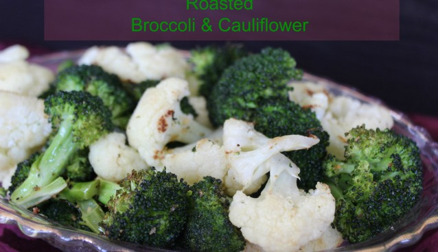 Roasted Broccoli & Cauliflower 4