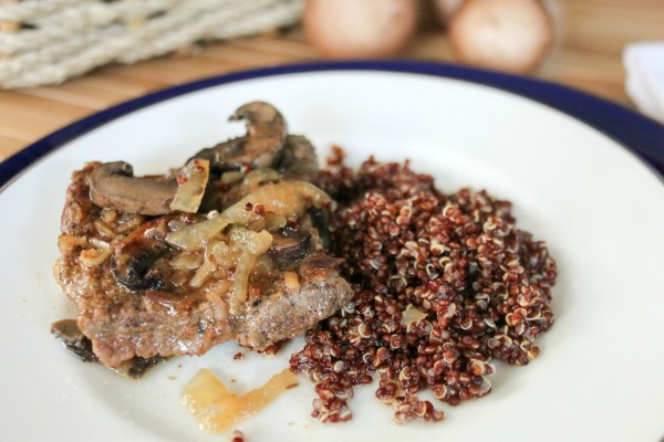 Round Steak with Mushrooms & Gravy 10