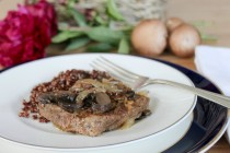 Round Steak with Mushrooms & Gravy 11