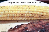 Simple Oven Roasted Corn on the Cob 1