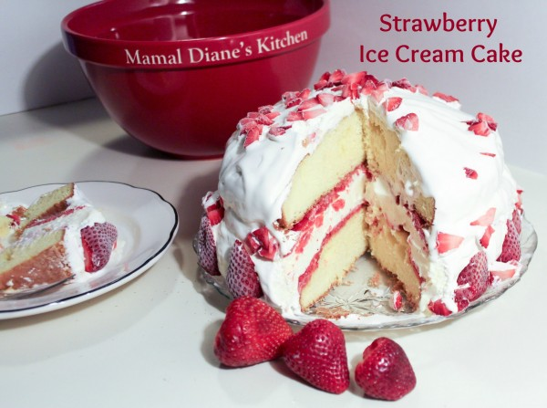 Strawberry Ice Cream Cake text 2