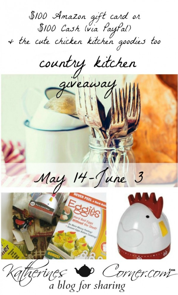 country kitchen giveaway main image