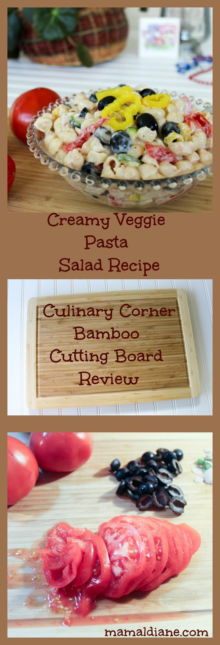 Simple Creamy Veggie Pasta Salad Recipe
