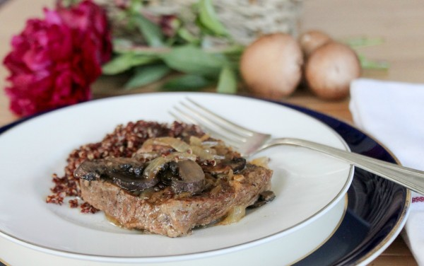 Round Steak with Mushrooms & Gravy 11
