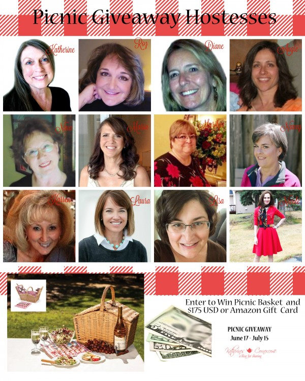 picnic giveaway hostesses 1