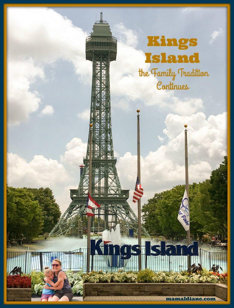 Kings Island 25 text