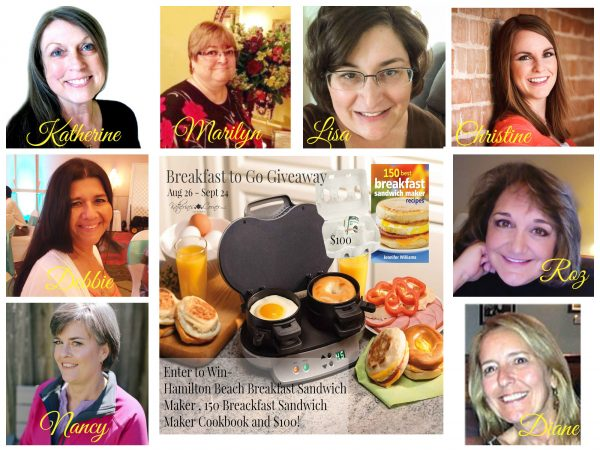 new breakfast to go giveaway hostesses