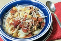 Summer Chili Over Tortellini 7