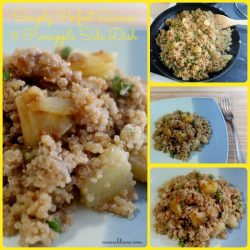 Quinoa and Pineapple Side Dish