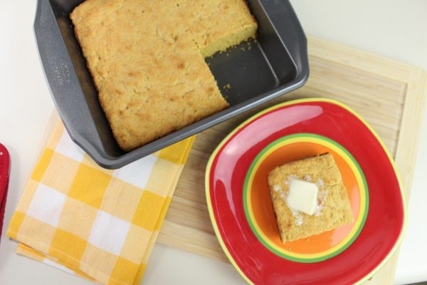 Homemade Sweet Corn Bread