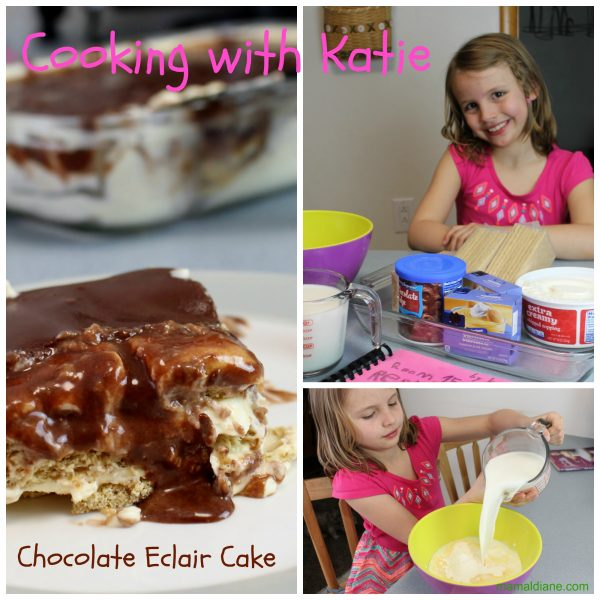 Chocolate Eclair Cake - Cooking with Katie
