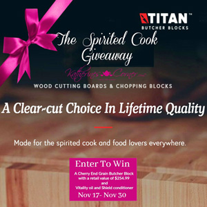 The Spirited Cook Giveaway