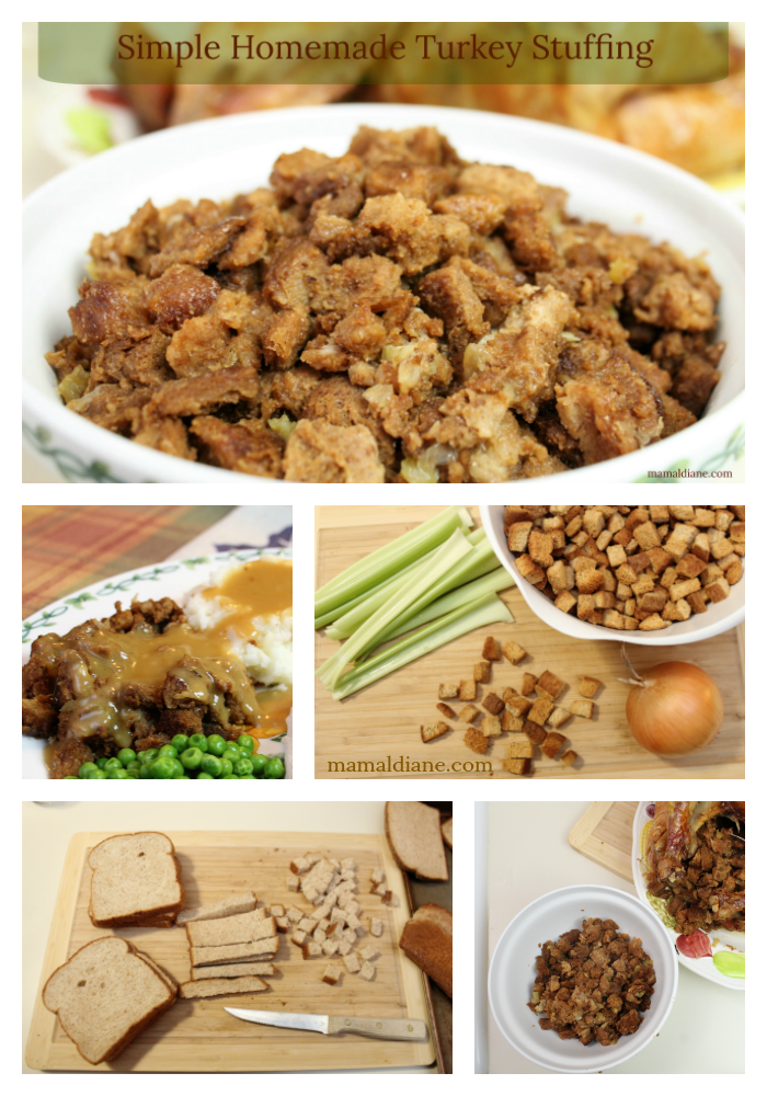 how to make simple stuffing